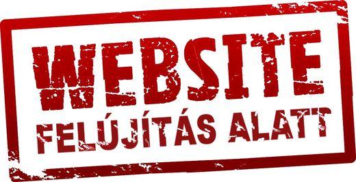 a honlap felújítása
